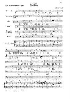 Rosina, wo was dein Gestalt: Für sechs Stimmen und Klavier by Ludwig Senfl