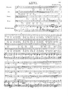 Wiewol viel herter Orden : Für vier Stimmen und Klavier by Ludwig Senfl