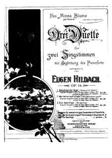Passage-bird's farewellh, Op.14 No.1: In A Minor by Eugen Hildach