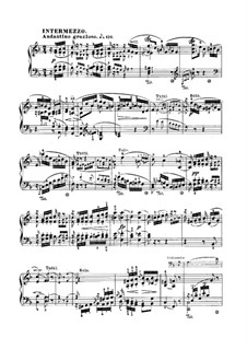 Concerto for Piano and Orchestra in A Minor, Op.54: Movement II – piano solo part by Robert Schumann