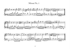 Minuet in G Major, BWV 841: Minuet in G Major by Johann Sebastian Bach