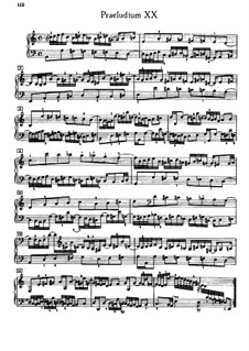 Prelude and Fugue No.20 in A Minor, BWV 889: Edition by G. Keller by Johann Sebastian Bach