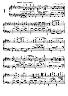 Two Concert Etudes, Op.1b: Two Concert Etudes by Carl Tausig
