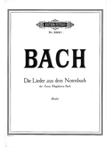 Selections: Songs by Johann Sebastian Bach