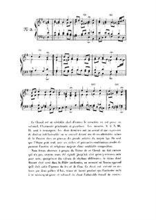 Choix de chorals: Choral No.3 by Johann Sebastian Bach