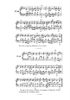 Choix de chorals: Choral No.16 by Johann Sebastian Bach