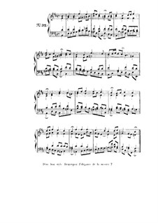 Choix de chorals: Choral No.32 by Johann Sebastian Bach