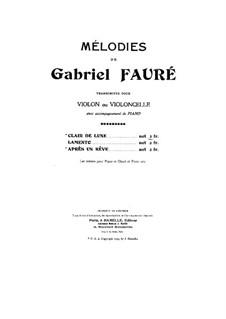clair de lune pdf violin