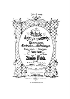 Book 10, Op.47 No.136-148: Book 10 by Zdeněk Fibich