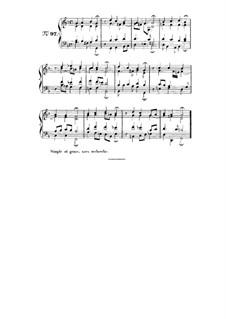 Choix de chorals: Choral No.97 by Johann Sebastian Bach