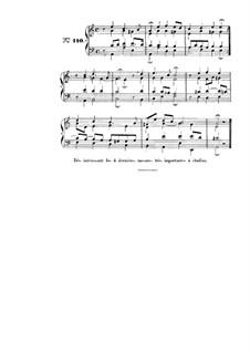 Choix de chorals: Choral No.110 by Johann Sebastian Bach