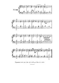 Choix de chorals: Choral No.126 by Johann Sebastian Bach