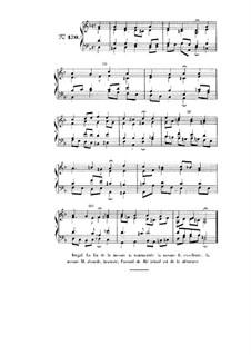 Choix de chorals: Choral No.130 by Johann Sebastian Bach