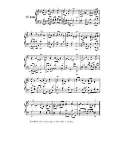 Choix de chorals: Choral No.136 by Johann Sebastian Bach