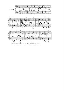Choix de chorals: Choral No.139 by Johann Sebastian Bach