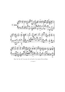 Choix de chorals: Choral No.144 by Johann Sebastian Bach