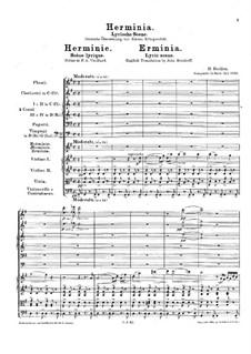 Erminia, H.29: Erminia by Hector Berlioz