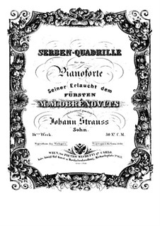 Serbian Quardrille, Op.14: Serbian Quardrille by Johann Strauss (Sohn)