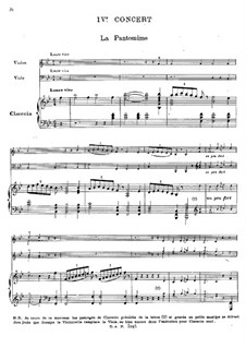 Harpsichord Concerto No.4 in B Flat Major, RCT 10: Full score by Jean-Philippe Rameau