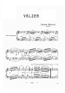 Three Waltzes, Op.46: Three Waltzes by Giuseppe Martucci