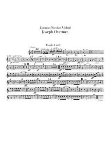 Joseph: Ouvertüre – Trompetenstimmen by Étienne Méhul