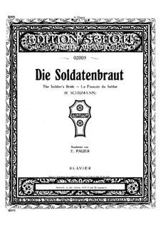 Romances and Ballades, Op.64: Nr.1 Die Soldatenbraut, für Klavier by Robert Schumann