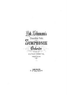 Symphony No.4 in D Minor, Op.120: Movement I by Robert Schumann