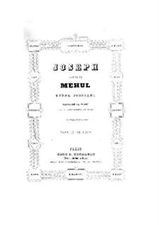Joseph: Für Solisten, Chor und Klavier by Étienne Méhul