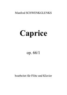 Caprice, Op.66/1: Caprice by Manfred Schwenkglenks