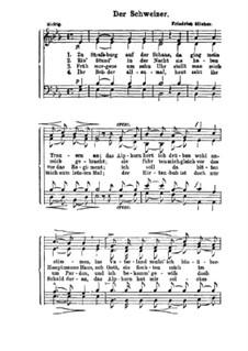 Der Schweizer: For male choir by Friedrich Silcher