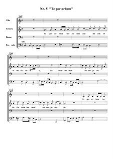 Te Deum, H.146: No.5 Te per orbem terrarum by Marc-Antoine Charpentier