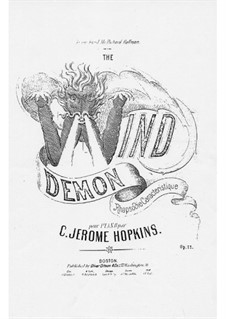 The Wind Demon, Op.11: The Wind Demon by Charles Jerome Hopkins