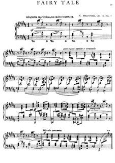Three Pieces, Op.31: No.3 Fairy Tale by Nikolai Medtner