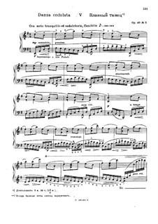 Forgotten Melodies III, Op.40: No.5 Danza Ondulata by Nikolai Medtner