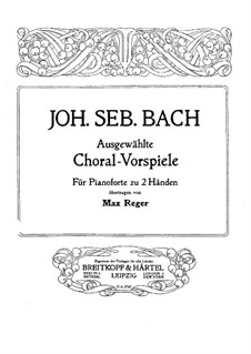 O Mensch, bewein' Dein' Sünde groß (O Man, Bewail Your great Sin): For piano by Johann Sebastian Bach