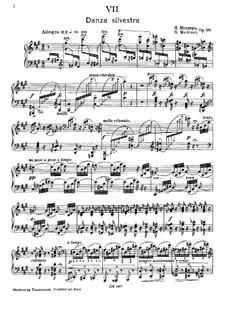 Forgotten Melodies I, Op.38: No.7 Danza Silvestra by Nikolai Medtner