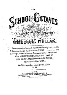 The School of Octave Playing, Op.48: Book I by Theodor Kullak