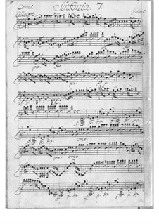 Symphony No.7 in F Major: Symphony No.7 in F Major by François Joseph Gossec