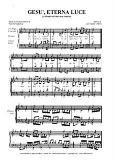 O Haupt voll blut und wunden: Italian lyrics by Johann Sebastian Bach