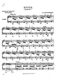 Morceau caractéristique en forme d'Étude, Op.22: Etude No.5 by Hermann Adolf Wollenhaupt