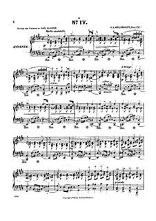 Morceau caractéristique en forme d'Étude, Op.22: Etude No.4 by Hermann Adolf Wollenhaupt