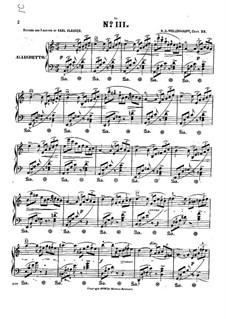 Morceau caractéristique en forme d'Étude, Op.22: Etude No.3 by Hermann Adolf Wollenhaupt