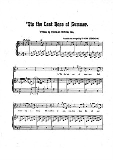 The Last Rose of Summer: In F Major by John Stevenson
