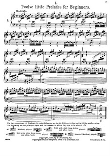 Little Prelude in C Major, BWV 924: For piano by Johann Sebastian Bach