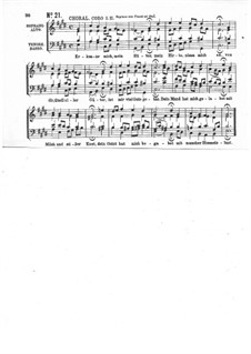 Part I: No.21 by Johann Sebastian Bach