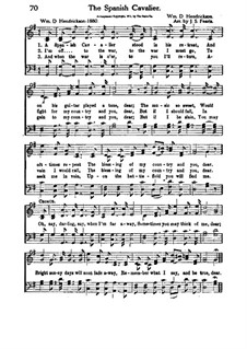 The Spanish Cavalier, for Choir: The Spanish Cavalier, for Choir by William D. Hendrickson