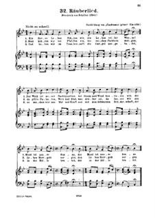 Räuberlied: Räuberlied by Unknown (works before 1850)