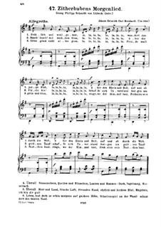 Zitherbubens Morgenlied: Zitherbubens Morgenlied by Johann Heinrich Carl Bornhardt