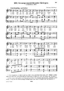 Gesang ausziehender Krieger: Gesang ausziehender Krieger by Albert Methfessel