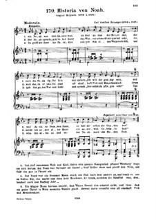 Vater Noah, Op.14: Piano-vocal score (in C Minor) by Carl Gottlieb Reissiger